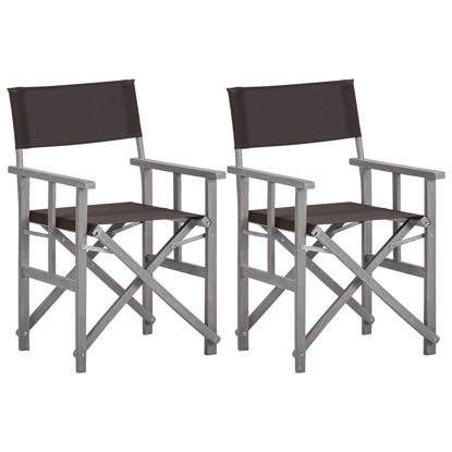 Picture of Director's Chairs - 2 pcs