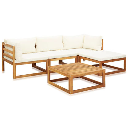 Picture of Outdoor Furniture Lounge Set 5 pc