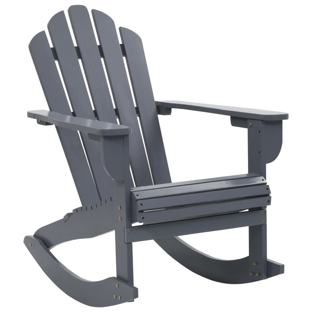 Picture of Outdoor Patio Rocking Chair - Gray
