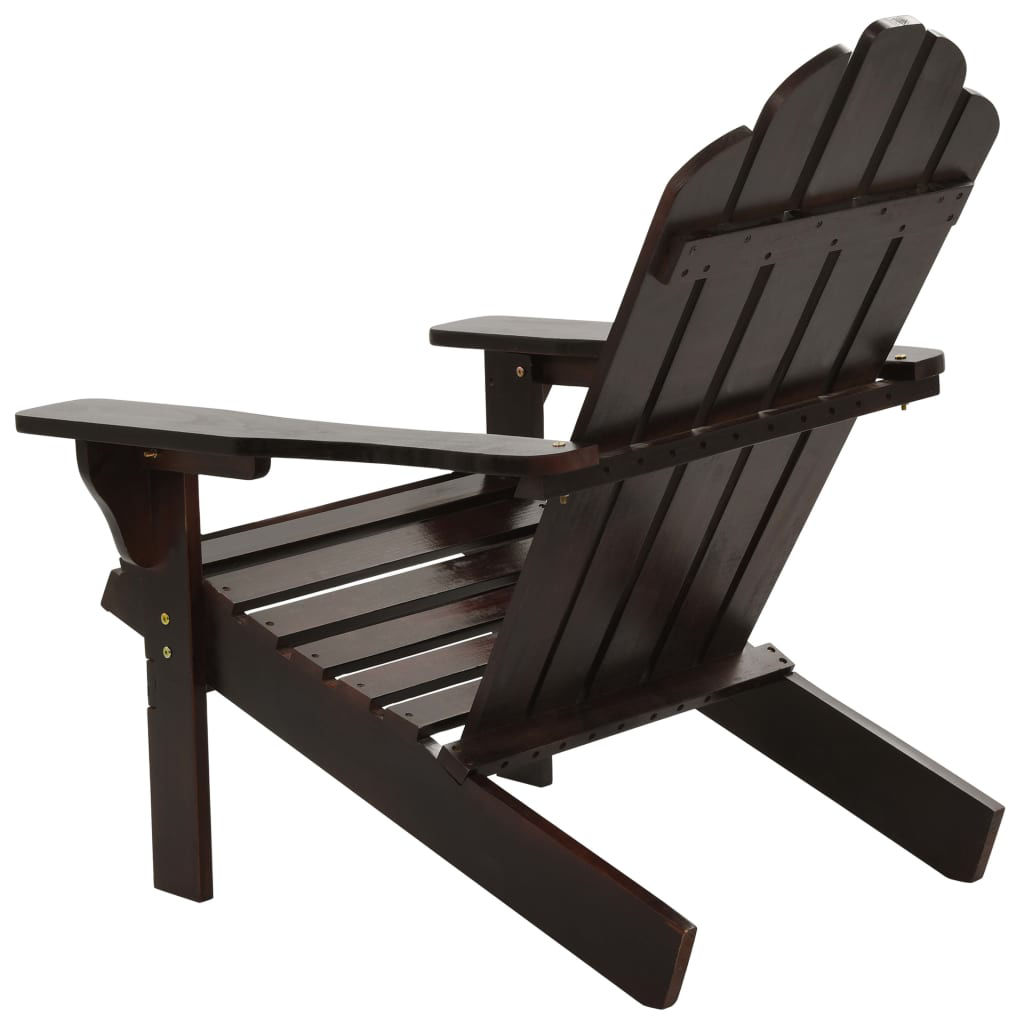 Picture of Outdoor Deck Chair - Brown