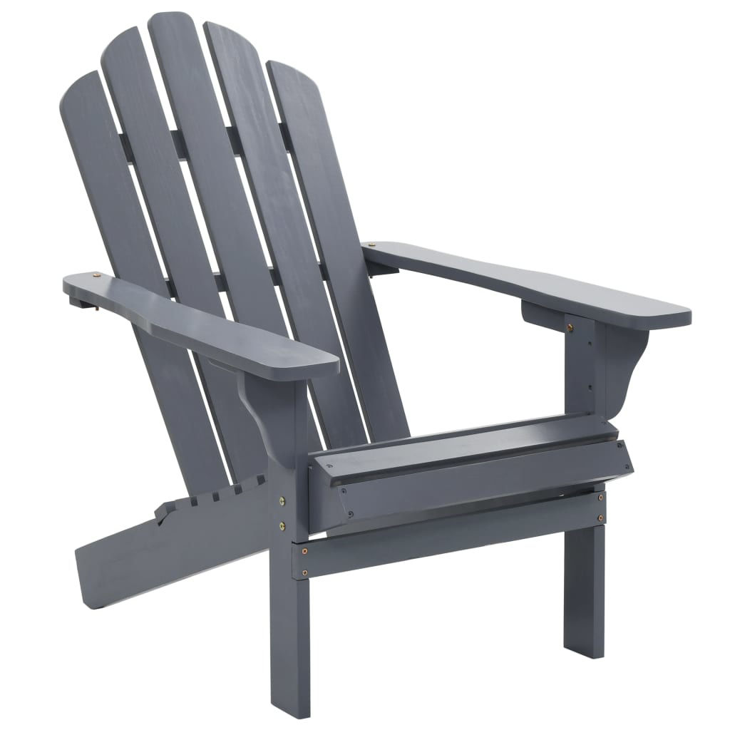 Picture of Outdoor Deck Chair - Gray