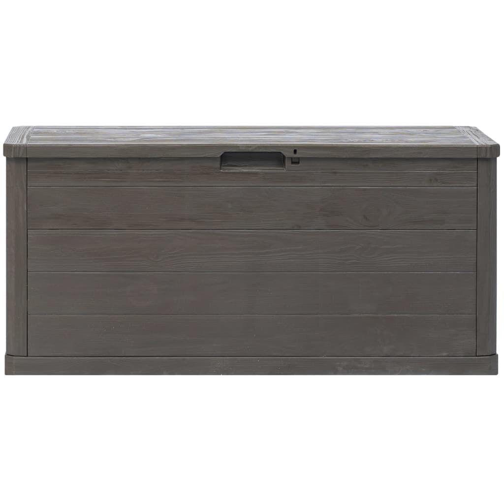 Picture of Outdoor Garden Storage Box 74 gal - Brown