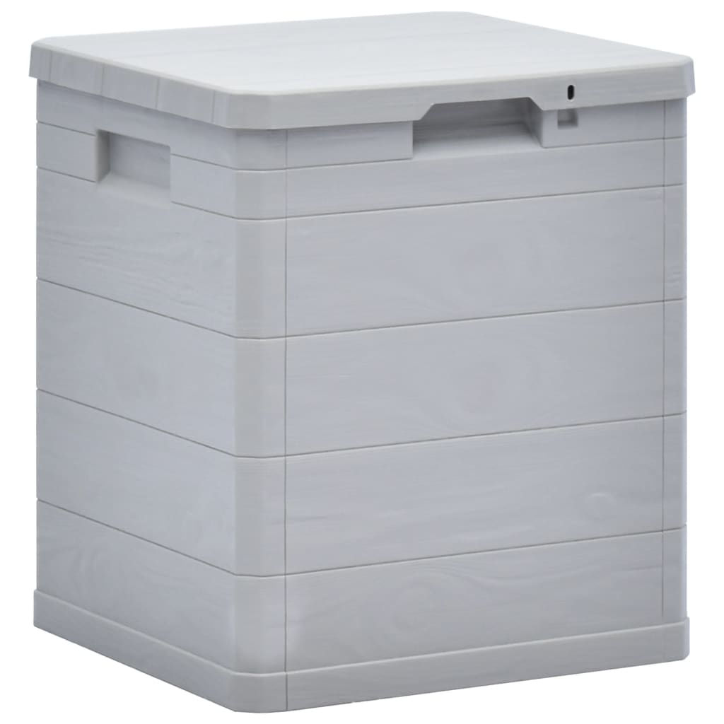 Picture of Outdoor Garden Storage Box 23.8 gal - Light Gray