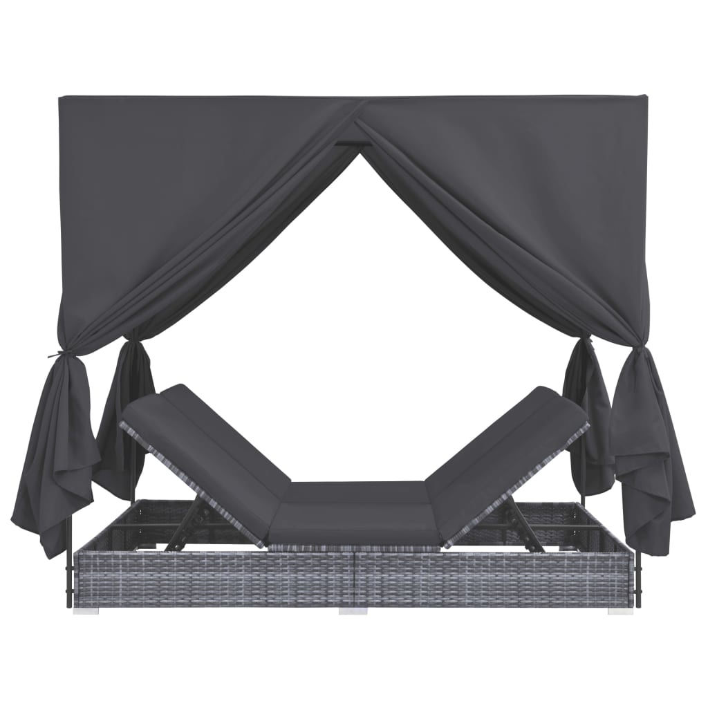 Picture of Outdoor SunBed Lounger - Gray
