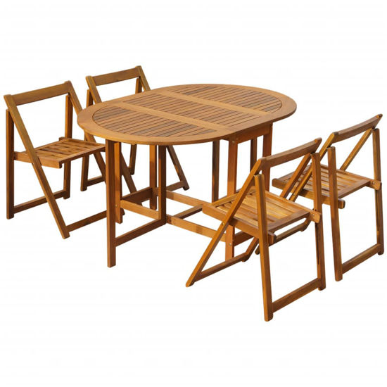 Picture of Outdoor Folding Dining Set