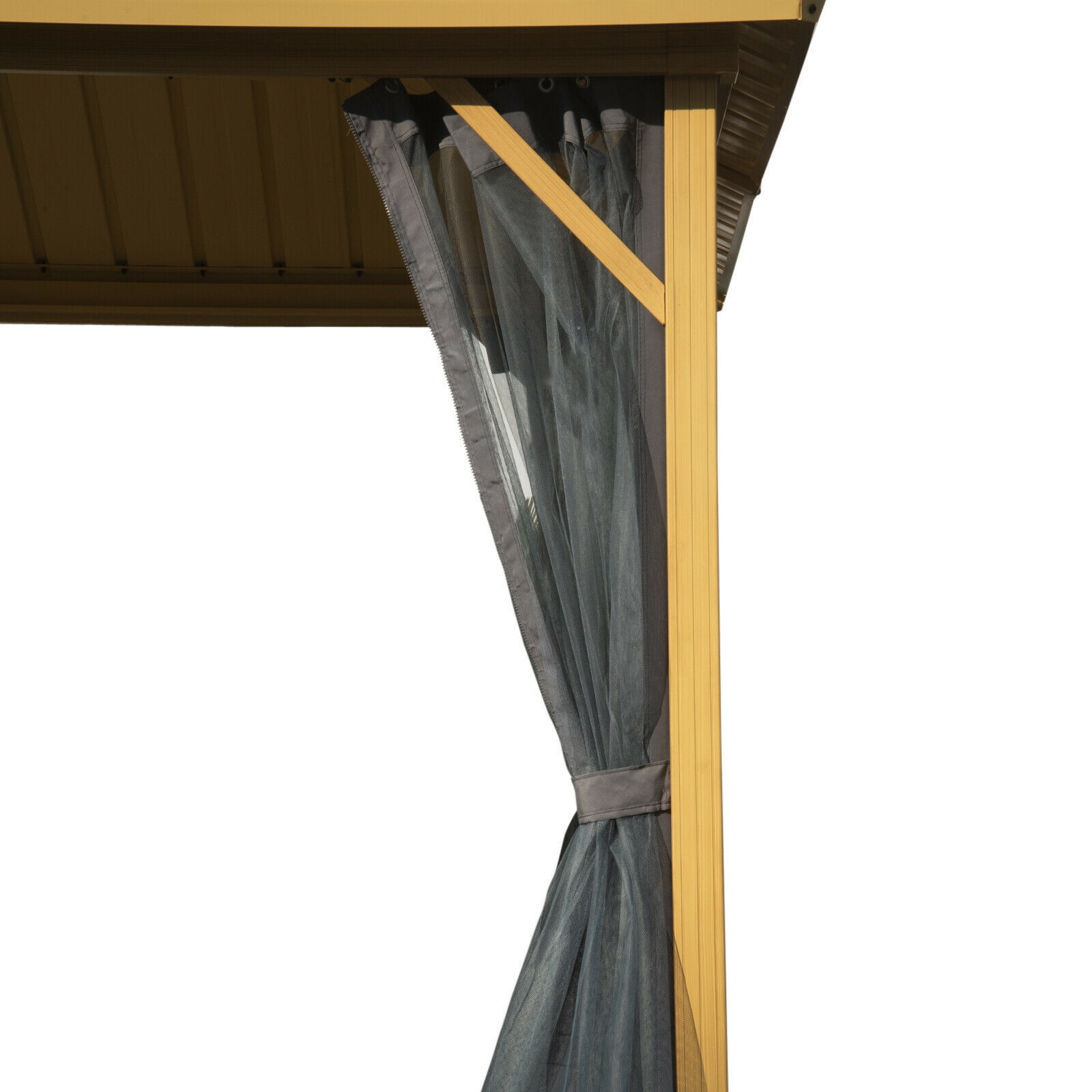 Picture of Outdoor 10'x12' Gazebo with curtains