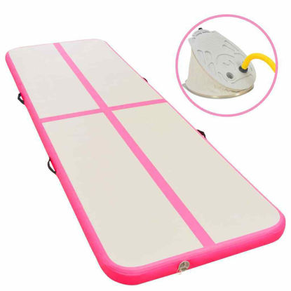 Picture of Fitness Gym Mat with a Pump - Pink