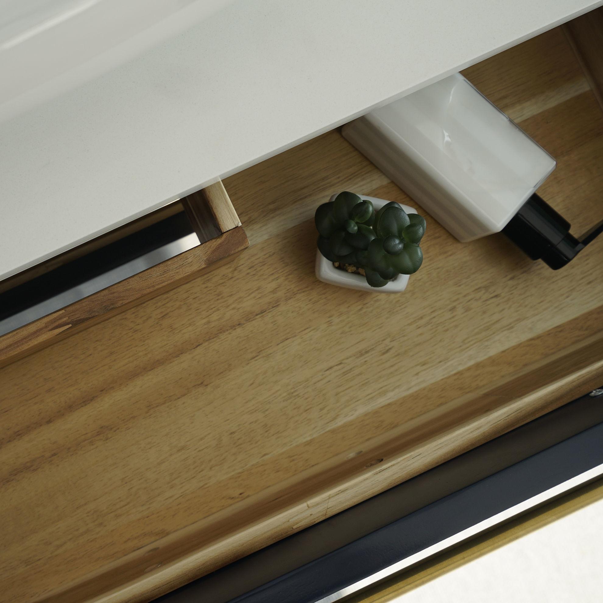 "Picture of Lucera 30"" Royal Blue Wall Hung Vessel Sink Modern Bathroom Vanity w/ Medicine Cabinet"