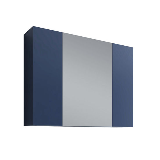 """Picture of 32"""" Royal Blue Medicine Cabinet w/ 3 Doors"""