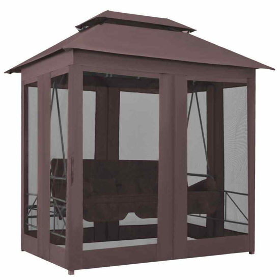 Picture of Outdoor Swing - Coffee