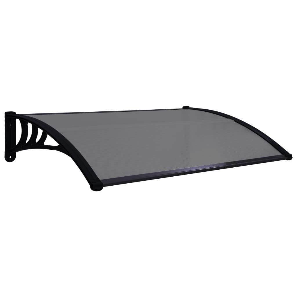 """Picture of Outdoor Door Canopy 59"""" - Black"""