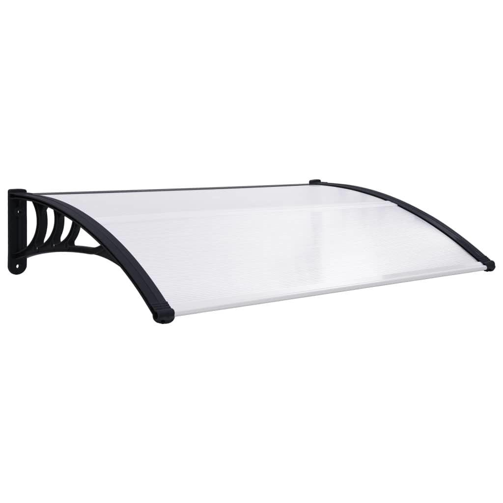 """Picture of Outdoor Door Canopy 59"""" - Black Transparent"""