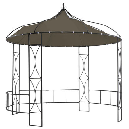 Picture of Outdoor Round Gazebo - Taupe