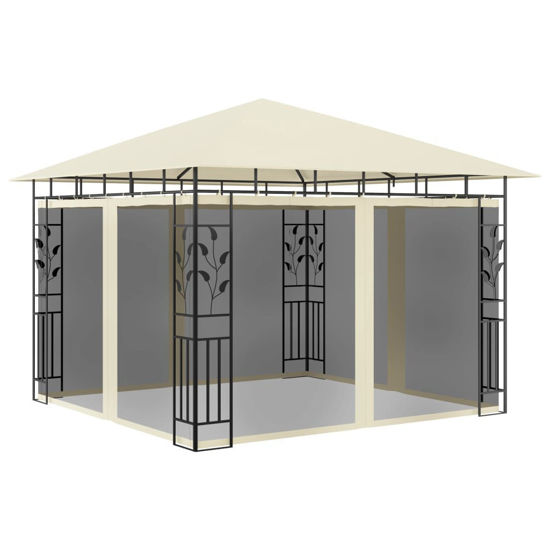 Picture of Outdoor Tent with Mosquito Net 10' x 10' - Cream