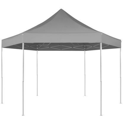 Picture of Outdoor Foldable Pop-Up Tent 11' x 10' - Gray