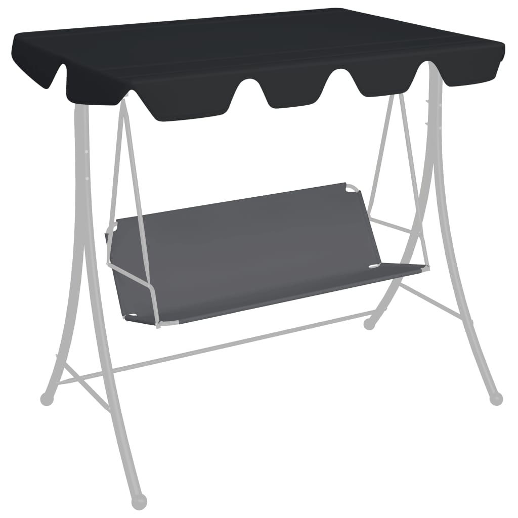 Picture of Outdoor Swing Top Replacement - Black