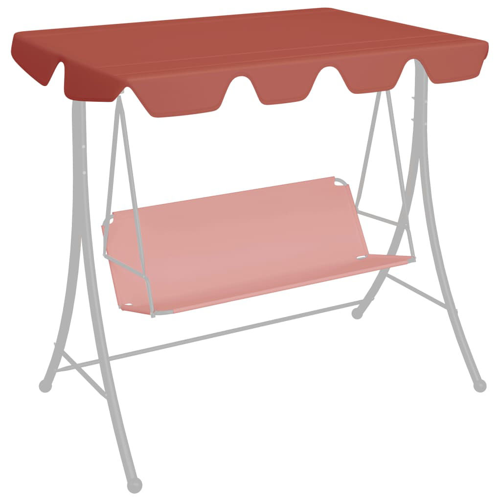 Picture of Outdoor Swing Top Replacement - Terracotta