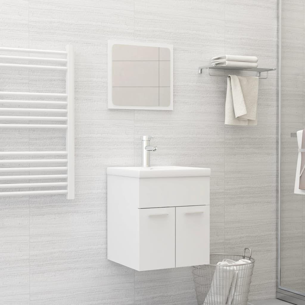"Picture of 15"" Bathroom Furniture Set - White"