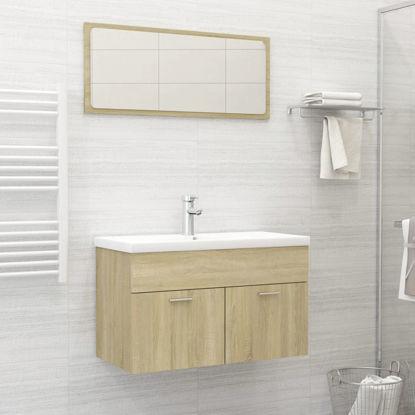 "Picture of 31"" Bathroom Furniture Set - Sonoma Oak"