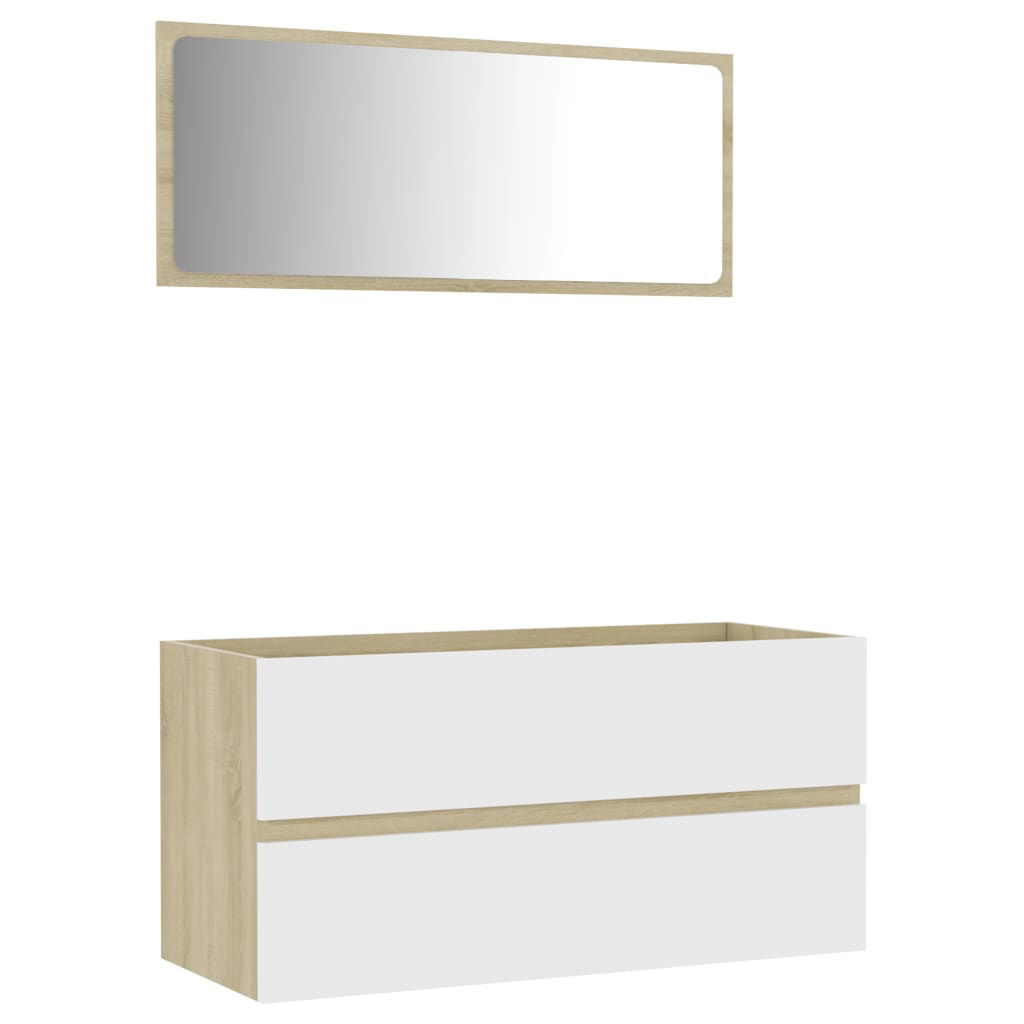 """Picture of 35"""" Bathroom Furniture Set with Mirror"""