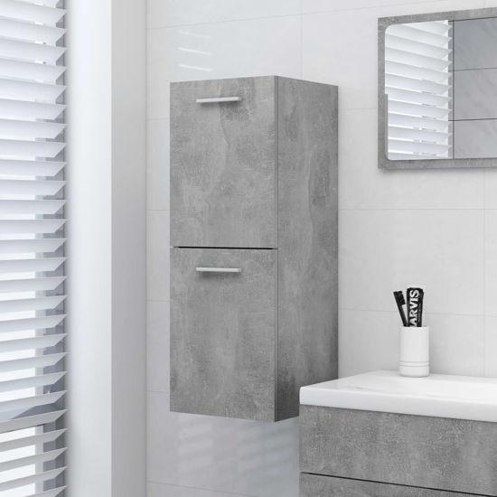 "Picture of 11"" Bathroom Cabinet - Concrete Gray"