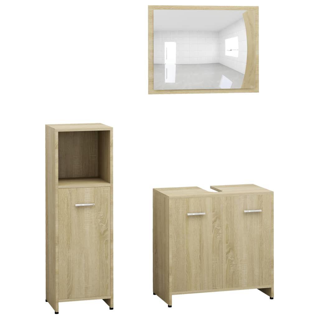 "Picture of 23"" Bathroom Furniture Set with Mirror - Sonoma Oak"