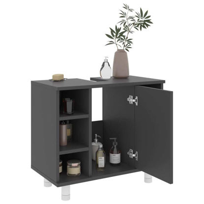 """Picture of 23"""" Bathroom Cabinet - Gray"""