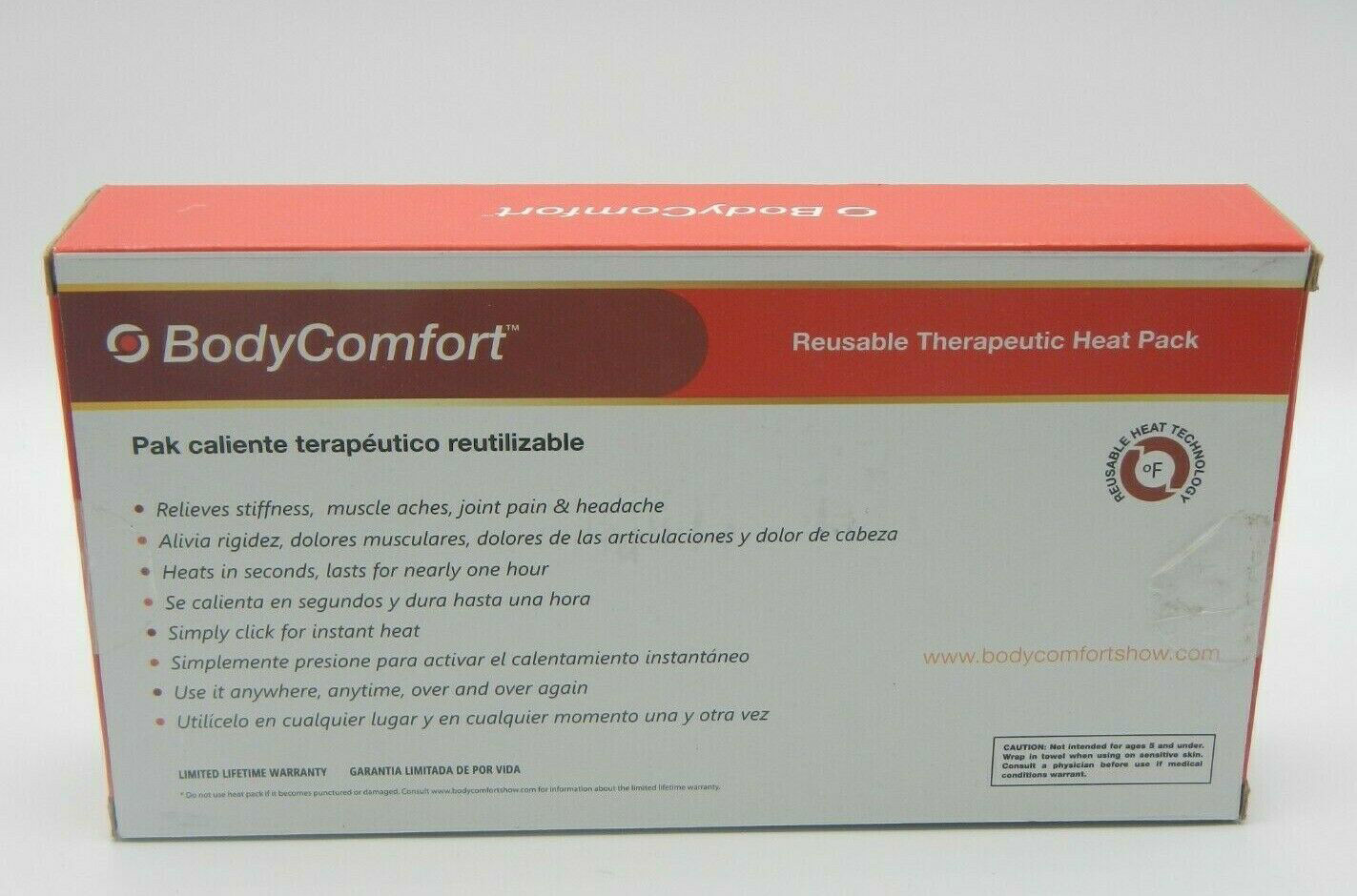 Picture of Reusable Therapeutic Heat Pack for Neck and Shoulders